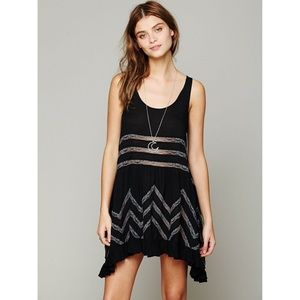 Free People Voile Lace Trapeze Dress *NEW*